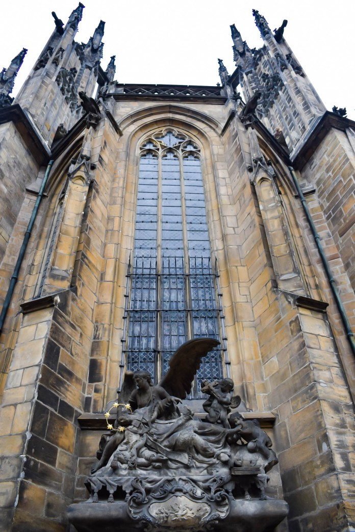 St Vitus Cathedral outside