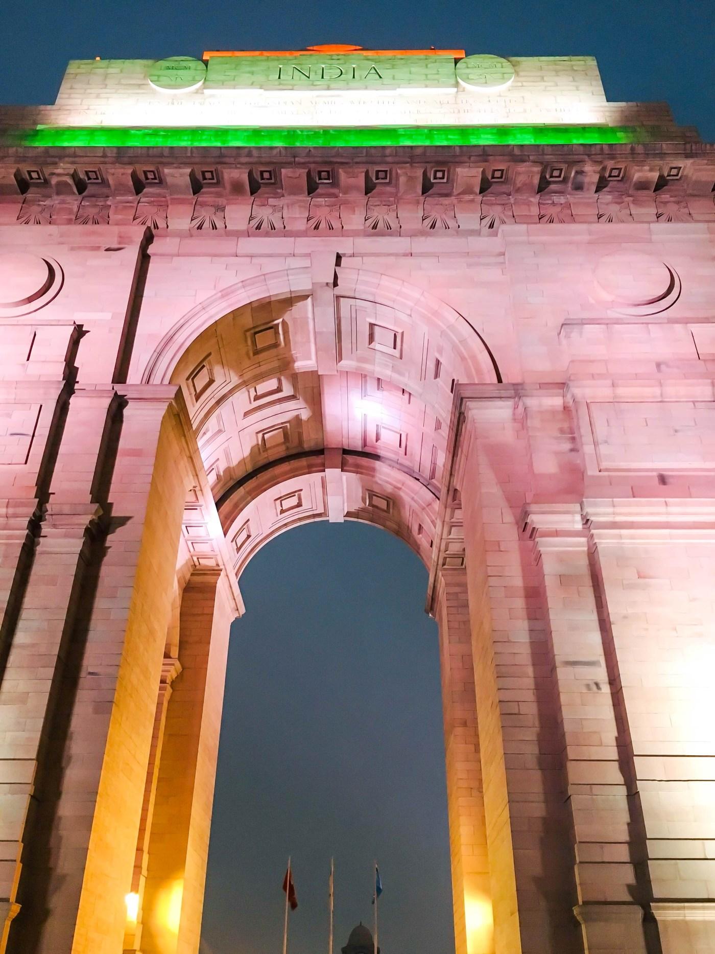 India Gate - Closeup