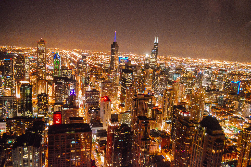 Chicago in night
