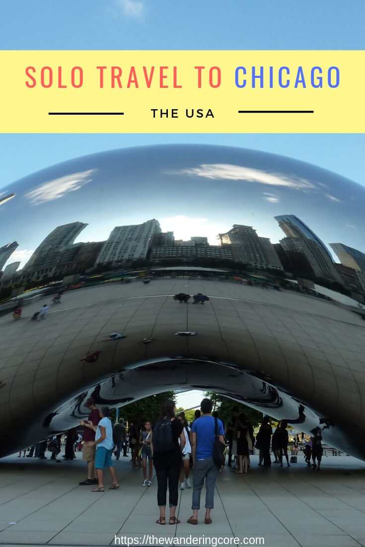 Chicago solo travel | Top things to do in Chicago when traveling alone | #chicago #usa #northamerica
