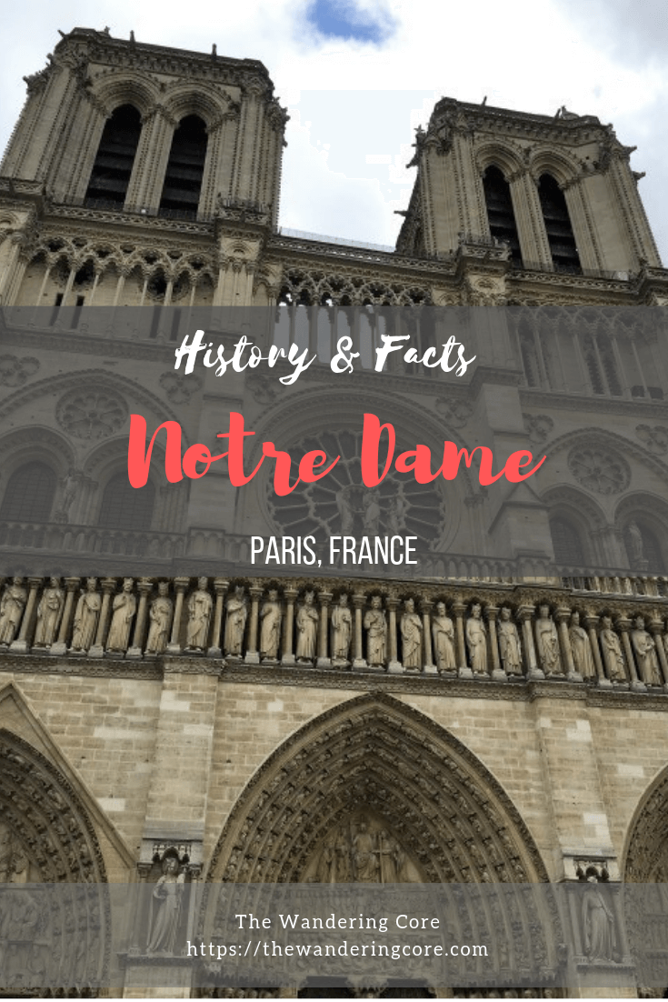 Fascinating history and facts about the Notre Dame Cathedral, Paris France || Top things to do in Paris | Notre Dame Cathedral facts | Facts about Notre Dame Paris | Notre Dame Paris visit | #europe #paris #france #notredame #church Less
