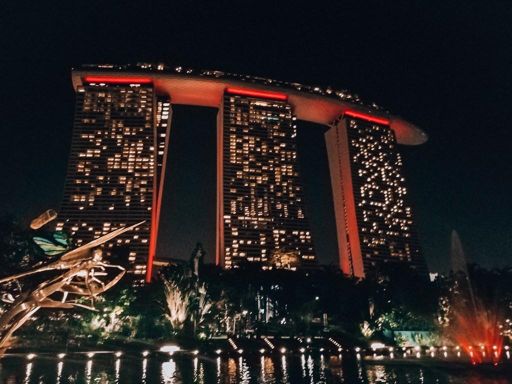 Marina Bay Sands Hotel | Singapore Insta Worthy | Singapore Trip | Singapore Instagrammable
