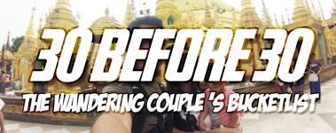 Travel Goals The Wandering Couple's Bucketlist