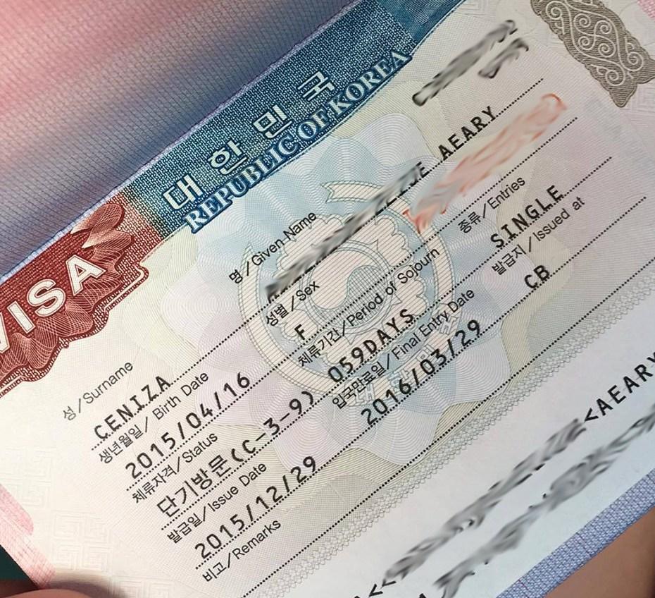 South Korea Tourist Visa for Filipinos
