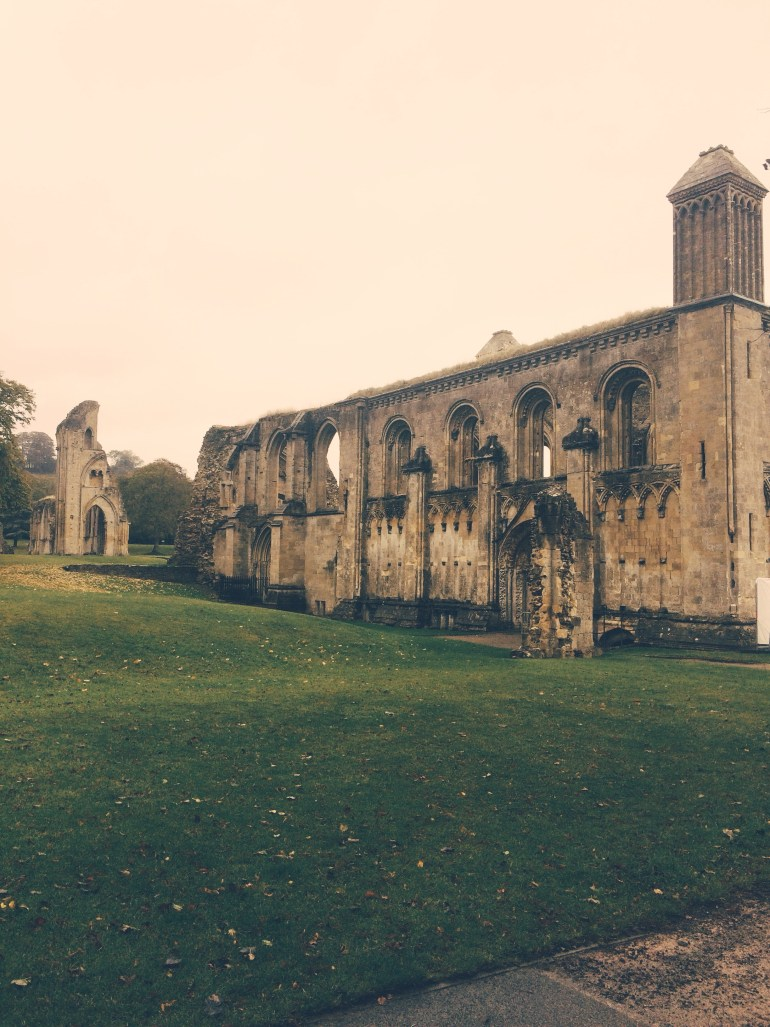 Glastonbury Abbey by The Wandering Darlings