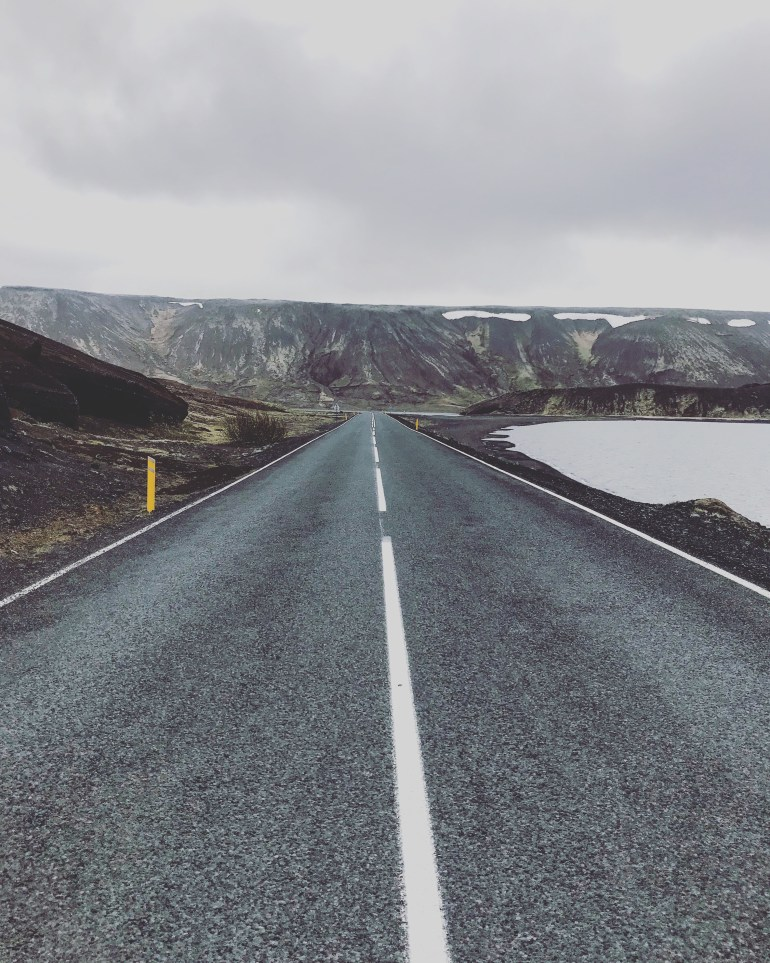 open road in iceland. 38 photos to visit iceland from the wandering darlings