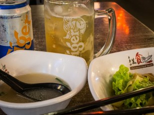Fish Soup and Beer