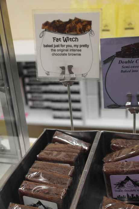 Brownies from Fat Witch Bakery
