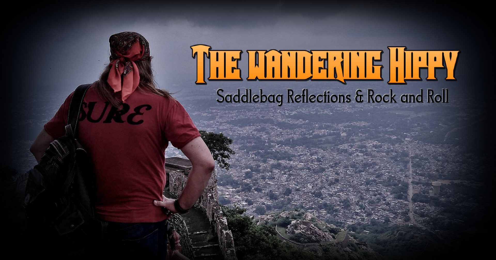 The Wandering Hippy – Saddlebag Reflections and Rock & Roll