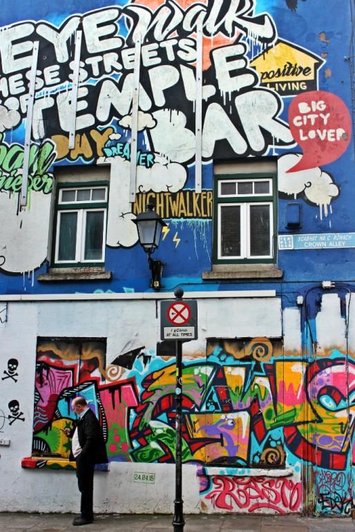 Temple Bar Street Art