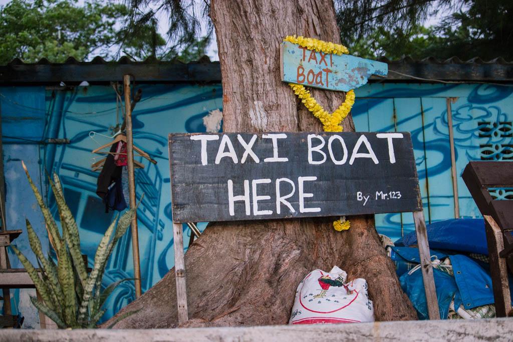 Taxi boat Koh Tao