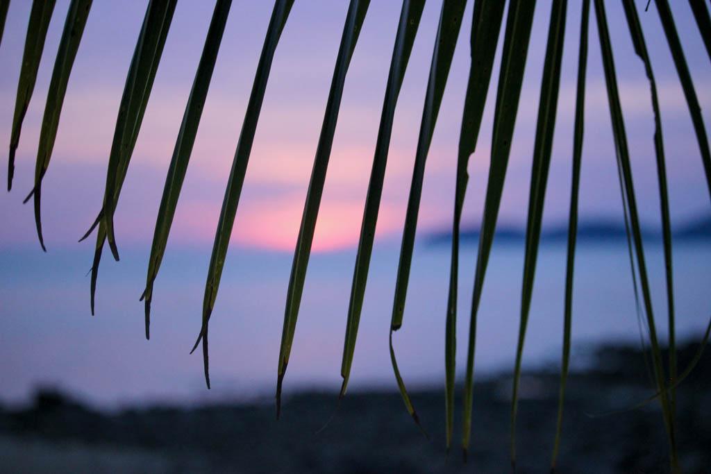 Zonsondergang Salang Beach