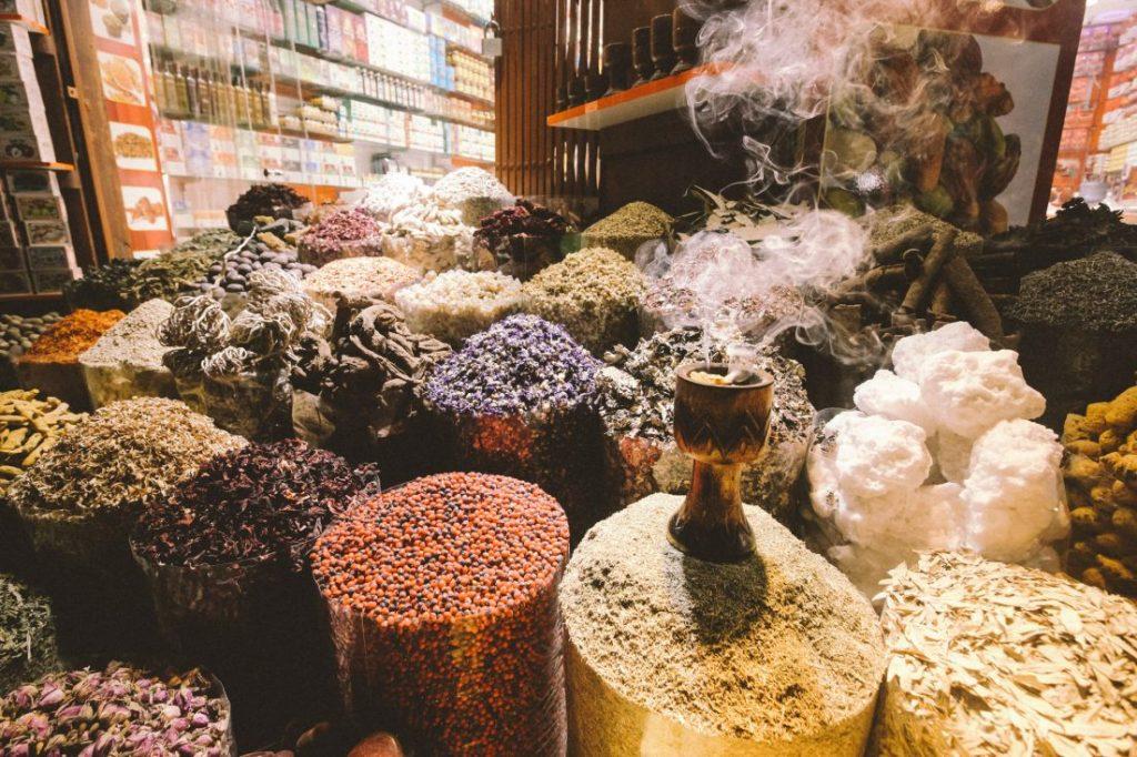 Spice Souk Dubai   Dubai   één dag in Dubai   Highlights   Verenigde Arabische Emiraten   route Dubai