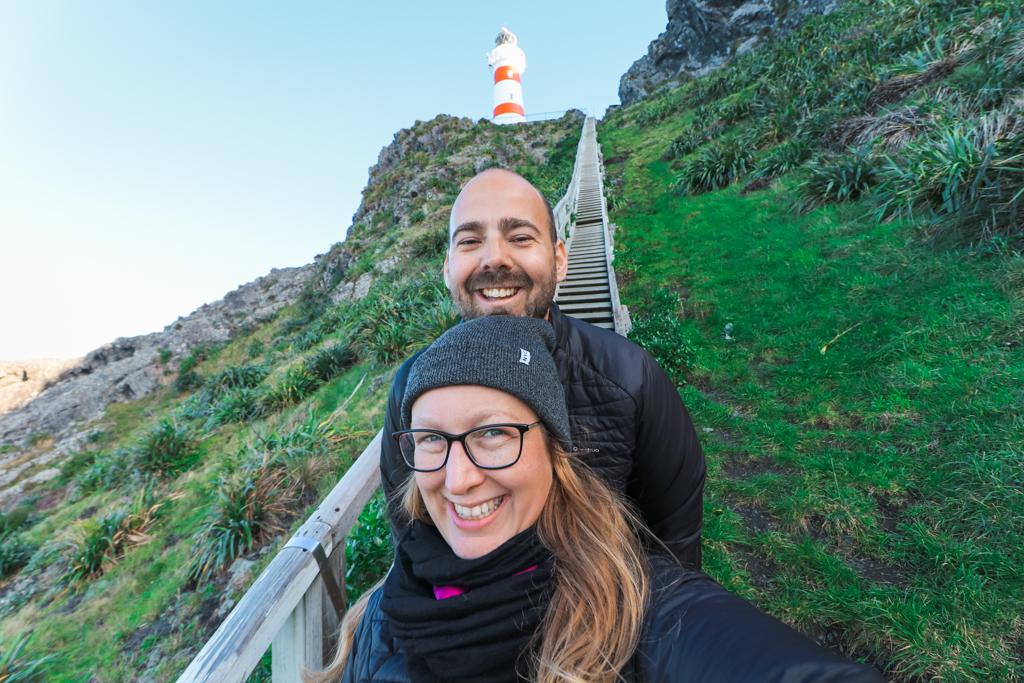 Cape Palliser | Vuurtoren | Lighthouse | Noordereiland | Nieuw-Zeeland