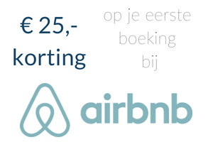 Korting Airbnb