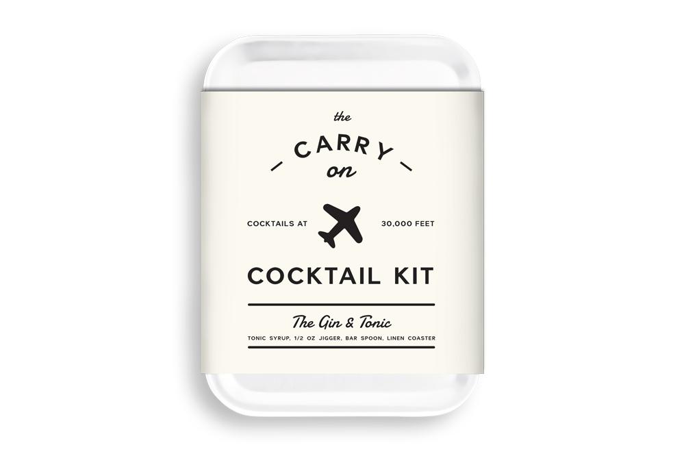 Carry On Cocktail Kit: maak je eigen cocktail in het vliegtuig!