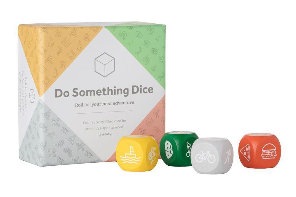 Je reist wat spontaner maken? Dobbel wat je gaat doen met de Do Something Dice.