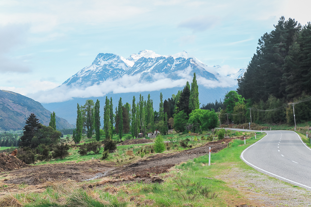 Een korte roadtrip vanuit Queenstown: de Queenstown - Glenorchy Road