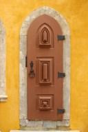 Gothic door near the Queen's Terrace