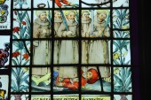 Stained glass was a favourite of King Dom Fernando II