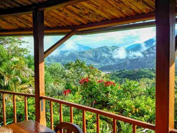 Vilcabamba Hosteria Izhcayluma Restaurant View | Ecuador Itinerary
