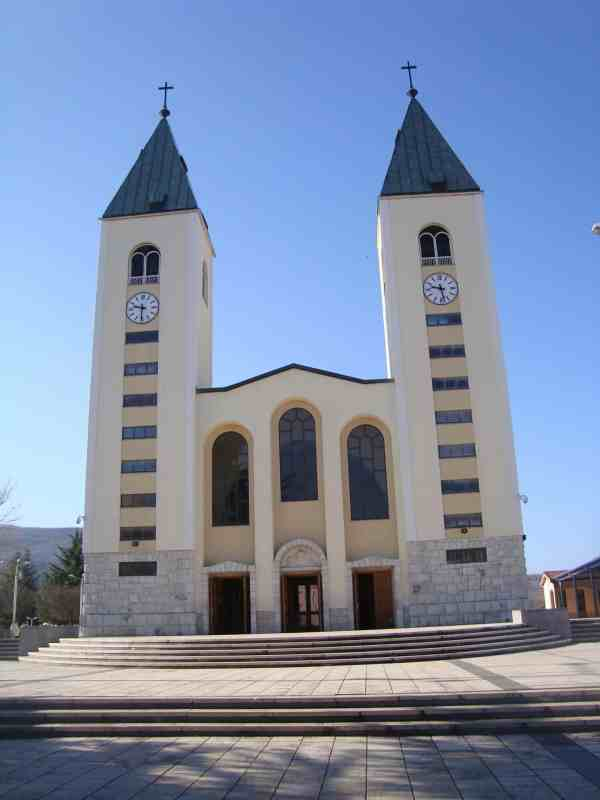 day trip from Mostar, Medjugorje Church