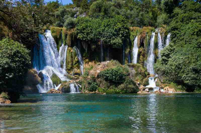 day trip from Mostar, Kravice Waterfall