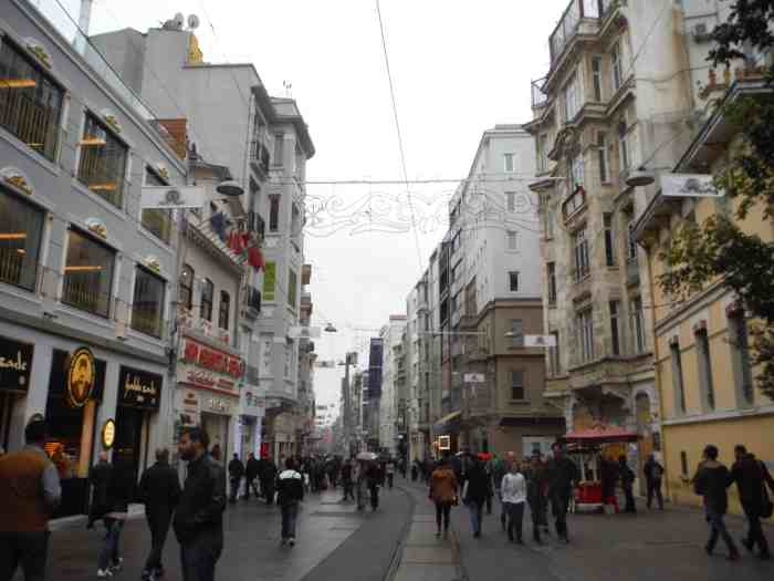 3 days in Istanbul, Istiklal Avenue