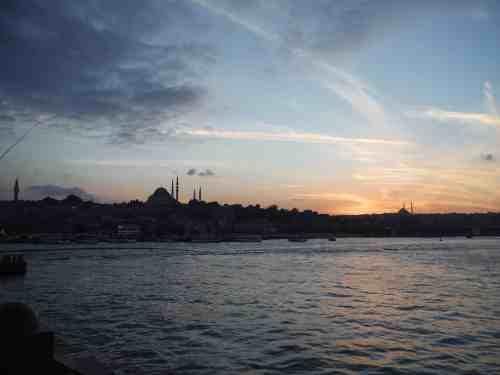 Sunset time.. beautiful!