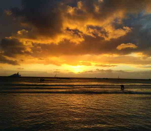 one week boracay sunset