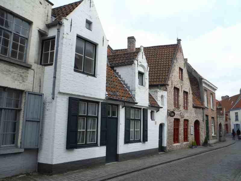 Buildings in Bruges | weekend in Belgium