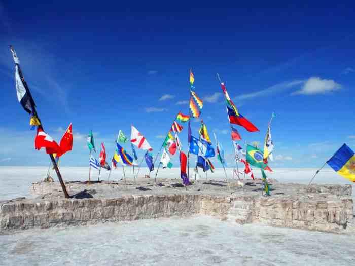 south america must visit places Bolivia Salt Flats