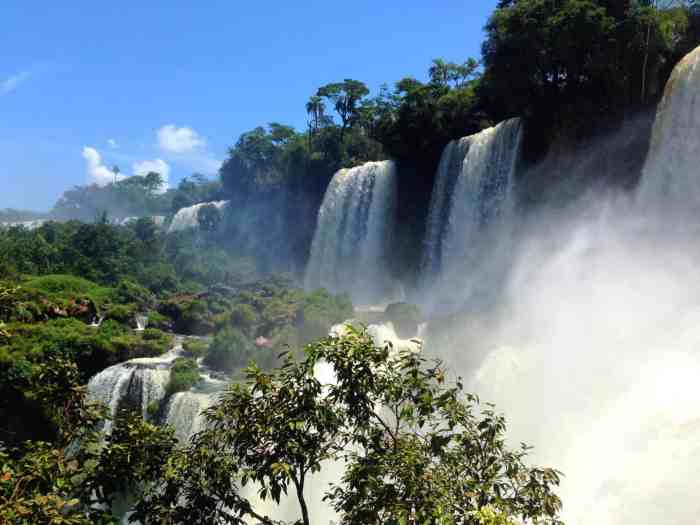 south america must visit places Iguazu Falls
