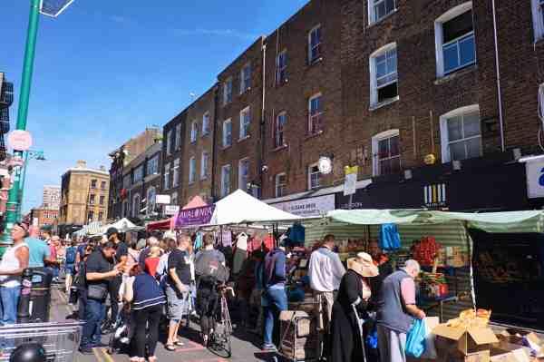 shoreditch on Sunday, Brick Lane Sunday Market