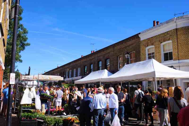 Places to go in Shoreditch, Columbia Road Flower Market