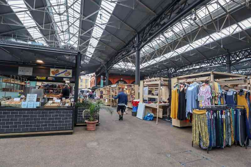 places to go in Shoreditch, Spitalfields Market