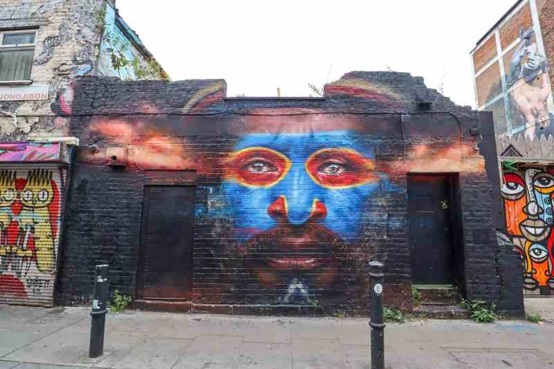 places to go in Shoreditch, Hanbury Street