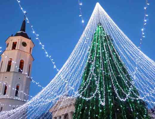 vilnius Lithuania guide christmas tree