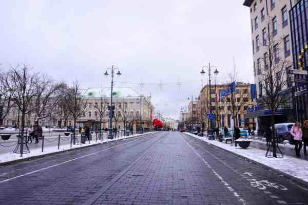 Vilnius Lithuania guide city