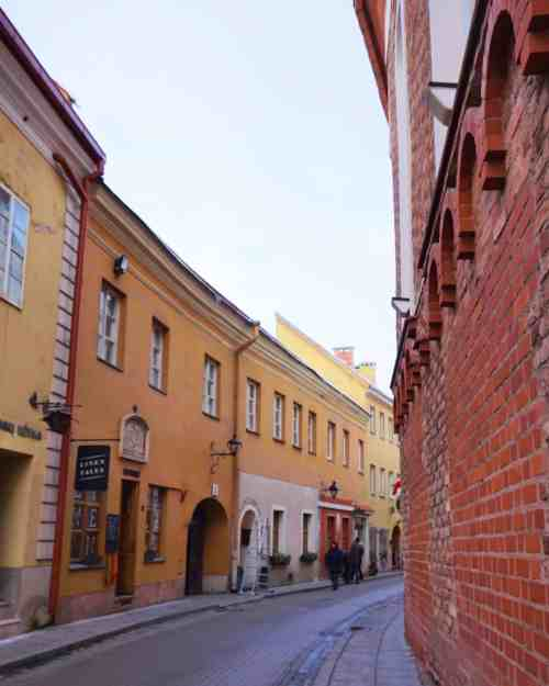 reasons to visit Vilnius, old town