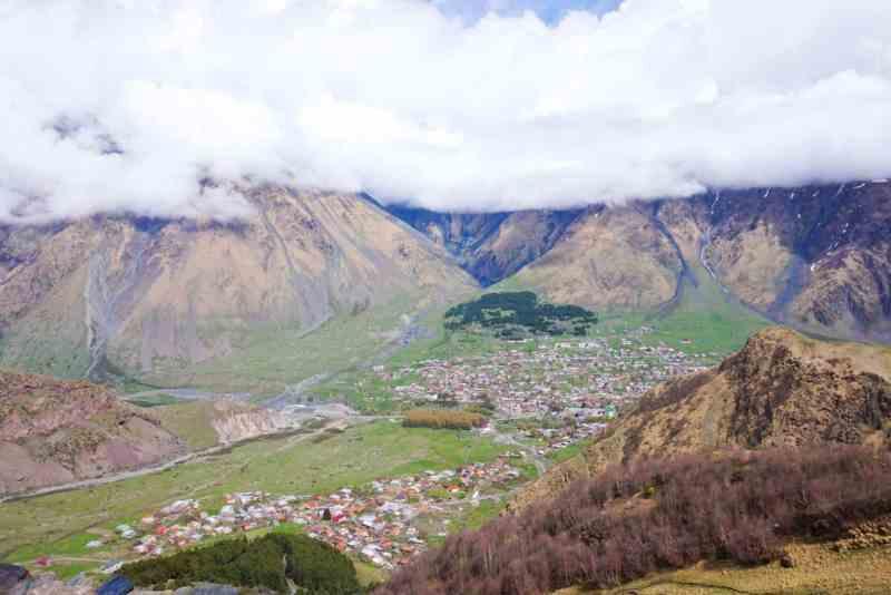 hidden gems in Europe, Geogia mountains