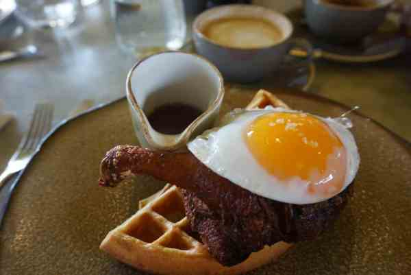 Brunch Spots London, Duck and Waffle
