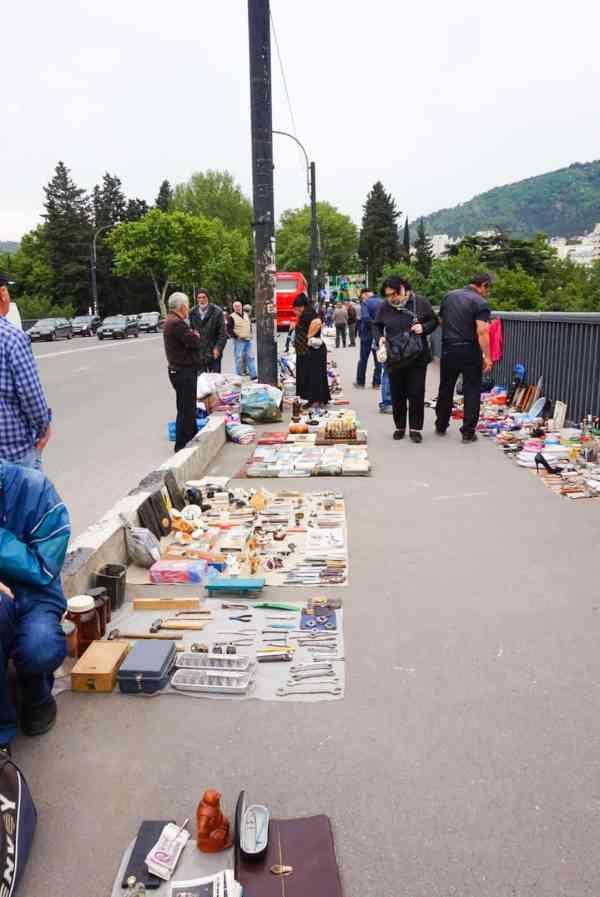 guide to Tbilisi Georgia flea market