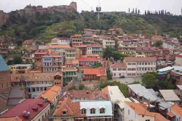 guide to Tbilisi Georgia cable car