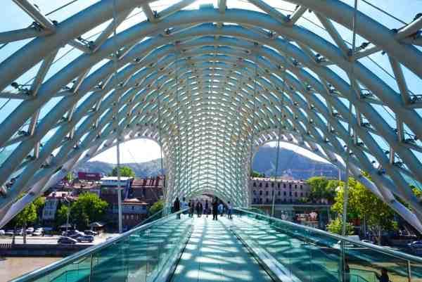 guide to Tbilisi Georgia bridge of peace