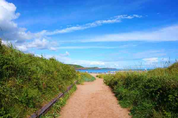 best beaches in Pembrokeshire Freshwater East