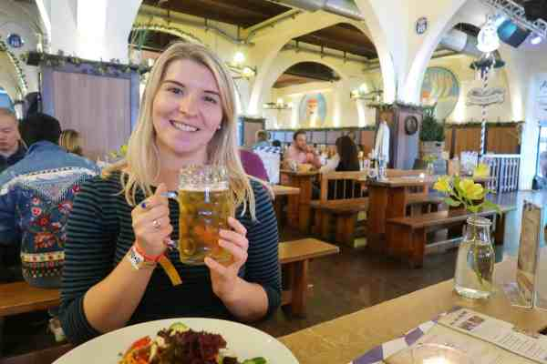 first time in Berlin, Hofbräu Berlin bar beer