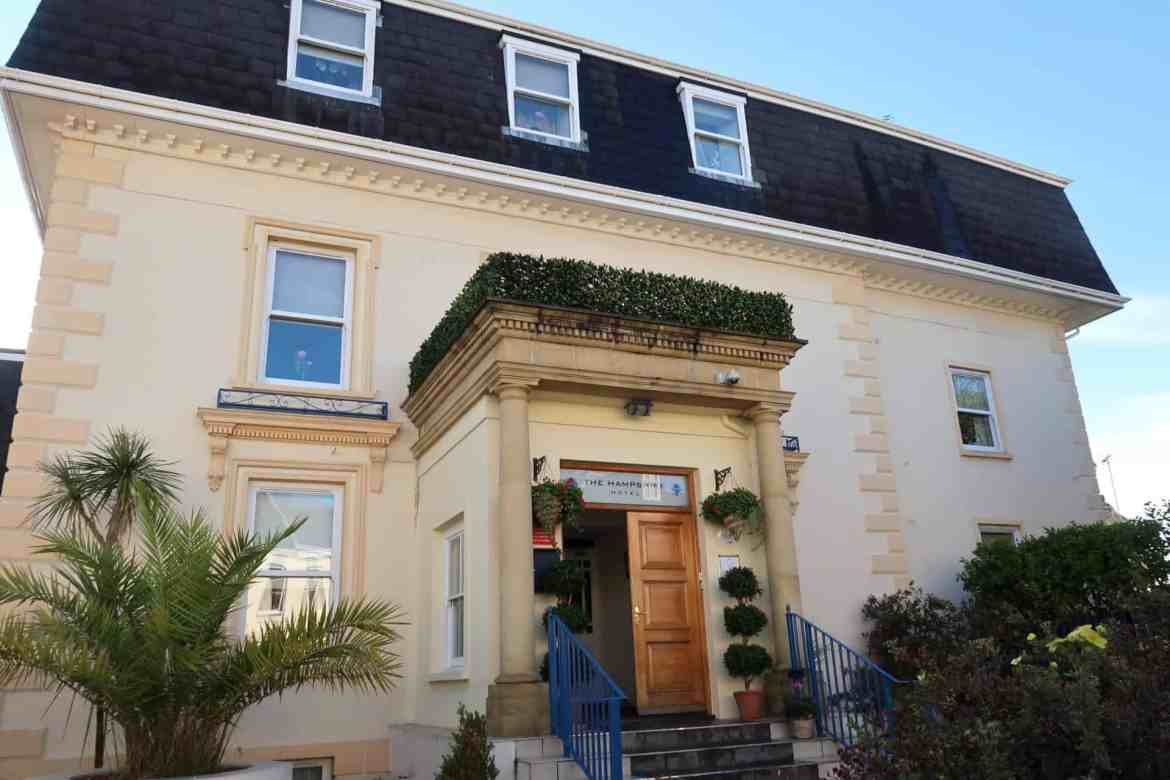 Jersey Channel Island itinerary, the hampshire hotel st helier