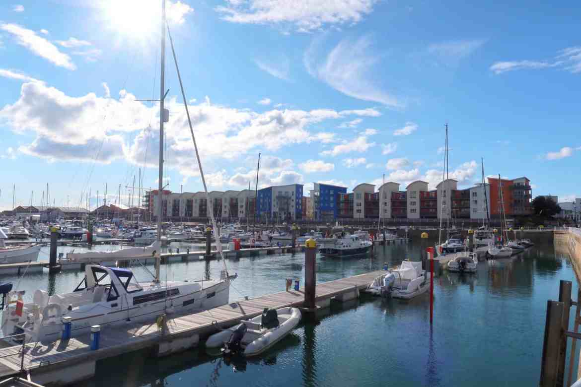 Jersey Channel Island itinerary, st helier harbour