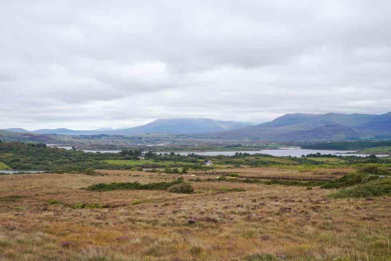 connemara national park west coast of ireland road trip